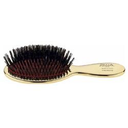 Giorgio Janeke 髮類用具-24K璀璨金迷你橢圓鬃毛板梳