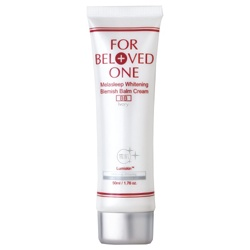 FOR BELOVED ONE 寵愛之名 亮白淨化系列-亮白淨化無瑕裸妝霜(雪肌) Melasleep Whitening Blemish Balm Cream(Ivory)