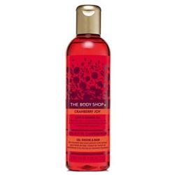 The Body Shop 美體小舖 聖誕限量系列-蔓越莓雙效沐浴膠