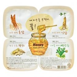 ETUDE HOUSE  保養面膜-蔘氣盎然蜂蜜凍膜拼盤(水洗式) Honey Wash-off Pack