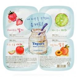 果然明亮優格凍膜拼盤(水洗式) Yogurt Wash-off Pack