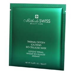 Methode SWISS 蜜黛詩 保養面膜-溫泉修護生物纖維面膜 hermal Oxygen Soothing Bio-Cellulose Mask