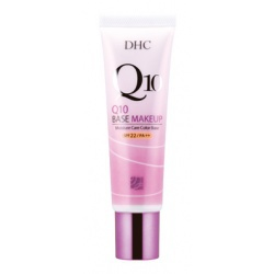 Q10無瑕隔離霜SPF22/PA++ DHC Q10 Moisture Care Color Base SPF22 PA++