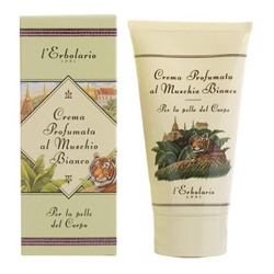 L`ERBOLARIO 蕾莉歐 身體保養-白麝香芳香潤膚霜 White Musk Afterbath Cream
