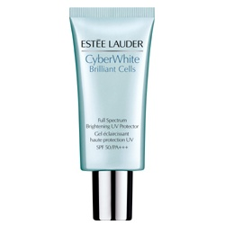 Estee Lauder 雅詩蘭黛 防曬‧隔離-HD超畫質晶燦透白隔離霜 SPF50/PA+++ CyberWhite Brilliant Cells Full Spectrum Brightening UV Protector SPF50 PA+++