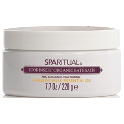 SPARITUAL 沐浴清潔-乳香精油海鹽 LOOK INSIDE Organic bath salts