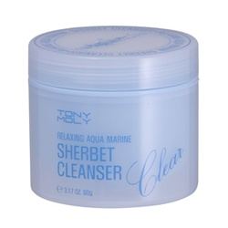 TONYMOLY 臉部卸妝-深層保濕潔膚蠟 Relaxing Aqua Marine Sherbet Cleanser
