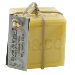 有機地中海橄欖甜橘精油馬賽皂 LE VERITABLE SAVON DE MARSEILLE BIO  A L'HUILE D'OLIVE