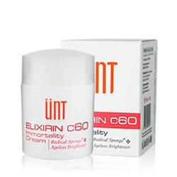 UNT  美白系列-富勒烯負肌齡美白精華霜 ELIXIRIN C60 IMMORTALITY CREAM