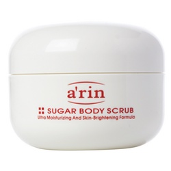 a`rin 身體去角質-身體淨白保濕去角質魔粒 Sugar Body Scrub