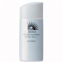SHISEIDO 資生堂-專櫃 安耐曬-臉部溫和防曬露SPF46/PA+++ mild face sunscreenSPF46/PA+++