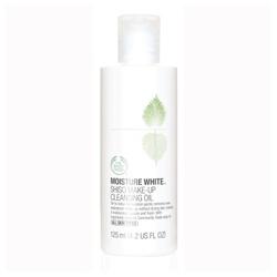 The Body Shop 美體小舖 臉部卸妝-水嫩淨白天然潔顏油 Shiso Make Up Cleansing Oil