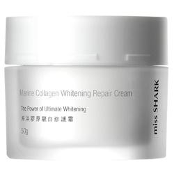 miss SHARK 小白鯊 乳霜-海洋膠原靚白修護霜 Marine Collagen Whitening Repair Cream