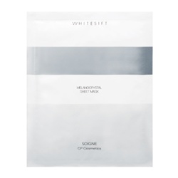 SOIGNE 保養面膜-WHITESIFT鑽石晶白修護面膜 MELANOCRYSTAL SHEET MASK