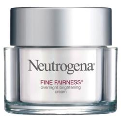 Neutrogena 露得清 乳霜-細白修護晚霜 Fine Fairness Overnight Brightening Cream