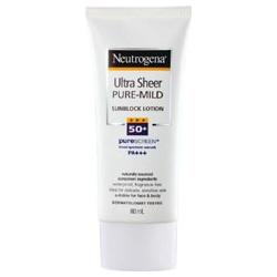 溫和全護輕透防曬乳 SPF50+ PA+++ Ultra Sheer Pure Mind  Sun Block SPF50+PA+++