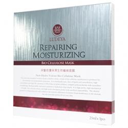 LUDEYA 露蒂雅 保養面膜-深層修護保濕生物纖維面膜 Repairing Moisturizing Bio Cellulose Mask
