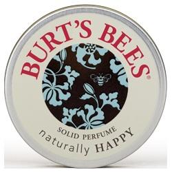 BURT`S BEES 小蜜蜂爺爺 女性香氛-戀戀香膏-快樂橙花 naturally HAPPY