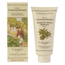 L`ERBOLARIO 蕾莉歐 洗髮-銀杏雙效修護洗髮精 2 in 1 Conditioner Shampoo