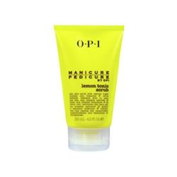 OPI  手部清潔-檸檬滋養磨砂淨露 Lemon Tonic Scrub