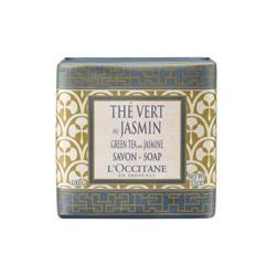 L'OCCITANE 歐舒丹 茉莉綠茶香氛系列-茉莉綠茶沐浴皂 Green Tea with Jasmine Soap