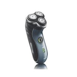男仕刮鬍‧護理產品-HQ7340水洗智慧雙刀頭電鬍刀