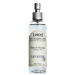 LE CHATELARD 1802 夏特拉爾 身體保養-法國薰衣草按摩油