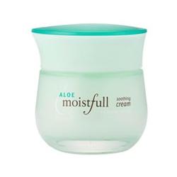 ETUDE HOUSE  臉部保養系列-水足感有機蘆薈清爽保濕水凝霜