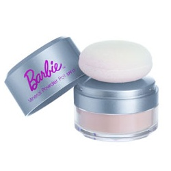 Barbie 芭比系列彩妝 蜜粉-輕透佳人柔膚礦物蜜粉 SPF17