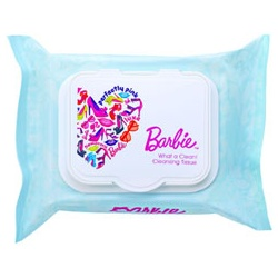 Barbie 芭比系列彩妝 臉部卸妝-天使肌純淨深層卸妝棉
