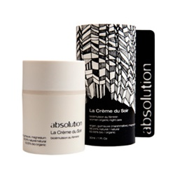 absolution 有機保養臉部系列-有機晚安活膚乳霜
