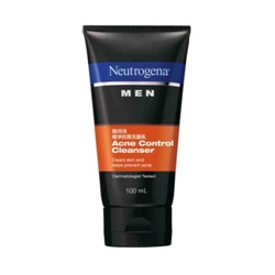 Neutrogena 露得清 男性保養系列-極淨抗痘洗面乳
