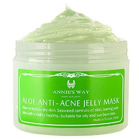 Annie`s Way 保養面膜-蘆薈+海藻控油果凍面膜 Aloe Anti-Acne Mask