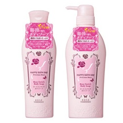 HAPPY BATHDAY precious rose 快樂沐浴天 身體保養-漾甜心香沁沐浴乳 HAPPY BATH DAY Precious Rose Rose Enrich Body Soap