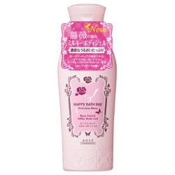 HAPPY BATHDAY precious rose 快樂沐浴天 身體保養-薔薇愛戀柔膚乳液 HAPPY BATH DAY Precious Rose Rose Enrich Milky Body Gel