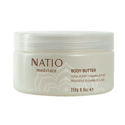 Natio 凝思身體系列-凝思香氛身體滋潤霜-黃玉蘭 Meditate Body Butter with Champa