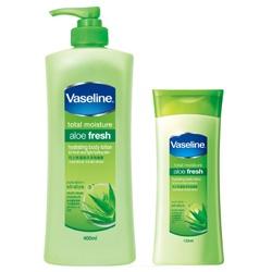 Vaseline 凡士林 身體保養-蘆薈保濕潤膚露 stratys 3 Aloe Fresh Hydrating