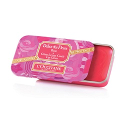 L'OCCITANE 歐舒丹 歡沁花露系列-歡沁花露紅玫瑰唇彩 Rose Lip Gloss