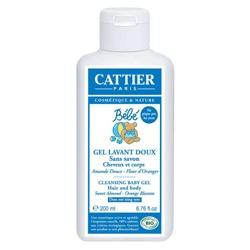 CATTIER 加帝耶 寶寶身體保養-嬰兒洗髮沐浴膠 CLEANSING BABY GEL