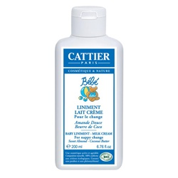 CATTIER 加帝耶 寶寶身體保養-尿布疹防護乳 Baby Liniment-Milky Cream
