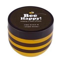 ETUDE HOUSE  保養面膜-Bee Happy蜂蜜暖氣修護面膜(水洗式)