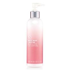 The Body Shop 美體小舖 粉蘭&#12398麝香香氛系列-粉蘭の麝香身體潤膚乳