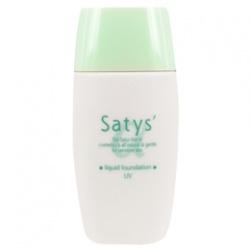 Satys'α 粉底液-輕透無瑕防曬粉底液SPF35/★★★★★ Liquid Foundation UV