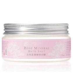 MONG YA 醫學美容級 玫瑰園深層淨白系列-玫瑰柔膚礦物浴鹽