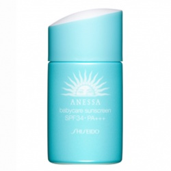 SHISEIDO 資生堂-專櫃 安耐曬-安耐曬寶貝肌防曬露SPF34/PA+++ ANESSA Babycare Sunscreen SPF34 PA+++