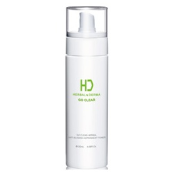 H&D Herbal Derma 萃膚美 化妝水-GO CLEAR 油脂調護植萃爽膚水 GO CLEAR HERBAL ANTI-BLEMISH ASTRINGENT TONER
