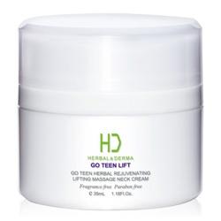 H&D Herbal Derma 萃膚美 GO TEEN植萃抗老系列-GO TEEN LIFT美麗無線植萃拉提按摩頸霜 HERBAL& DERMA GO TEEN HERBAL REJUVENATING LIFTING MASSAGE NECK CREAM