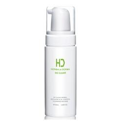 H&D Herbal Derma 萃膚美 洗顏-GO CLEAR 油脂調護溫柔植萃潔顏慕絲 HERBAL& DERMA GO CLEAR HERBAL OIL-CONTROL CLEANSING MOUSSE