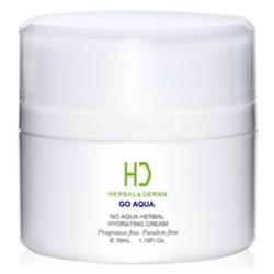H&D Herbal Derma 萃膚美 乳霜-GO AQUA 植萃水合保濕霜 GO AQUA HERBAL HYDRATING CREAM