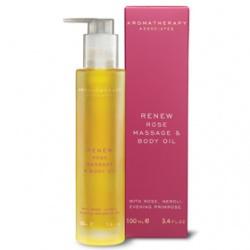 玫瑰煥新潤體按摩油 Renew Nourishing Rose Massage & Body Oil